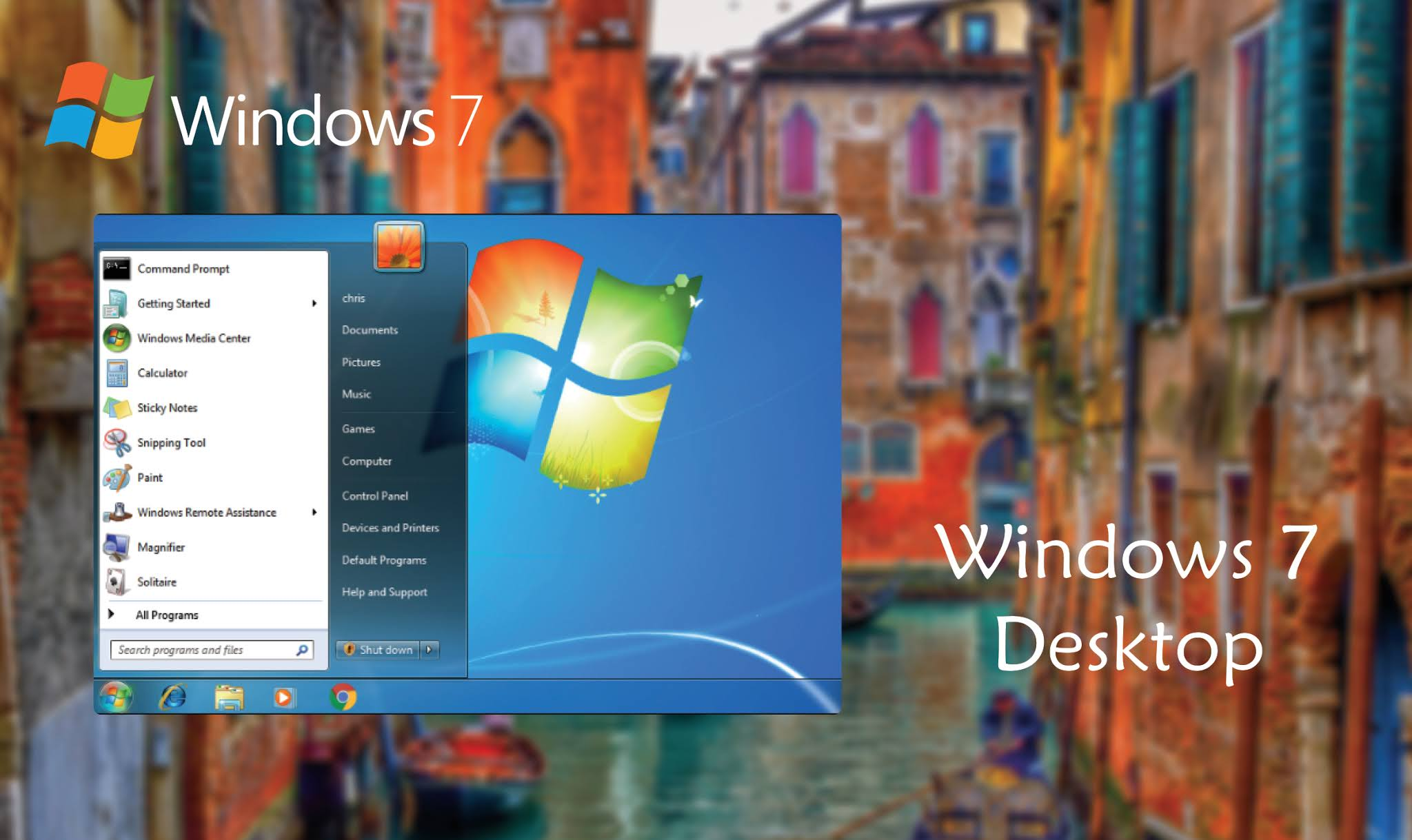 Desktop Windows 7 Premium